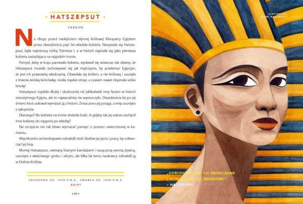 Opowieści na dobranoc dla młodych buntowniczek. Hatszepsut