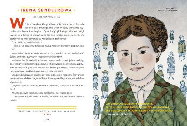 Opowieści na dobranoc dla młodych buntowniczek. Irena Sendlerowa