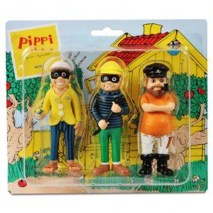 Figurki: złodzieje i ojciec Pippi