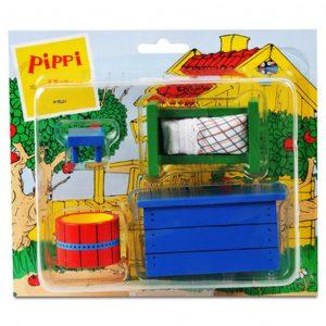 Zestaw mebelków do Willi Śmiesznotki Pippi
