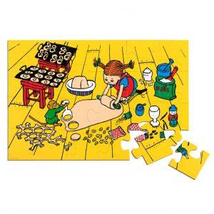Podłogowe puzzle Pippi 24 elementy