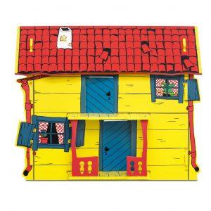 Willa Śmiesznotka - drewniany domek Pippi