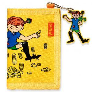 Żółty portfel z PIPPI