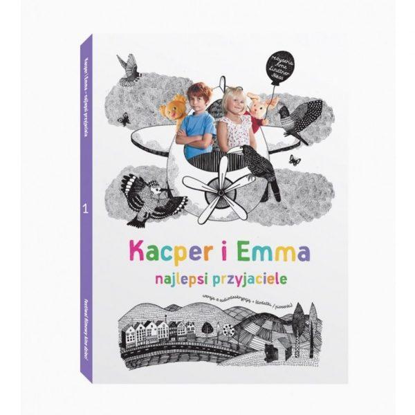 Kacper i Emma – najlepsi przyjaciele - film DVD
