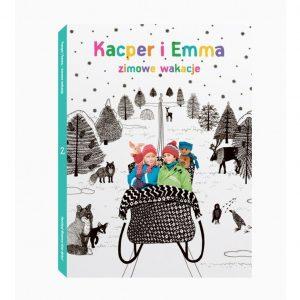 Kacper i Emma - zimowe wakacje - film DVD