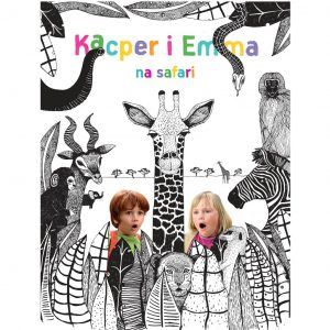 Kacper i Emma na safari – film DVD