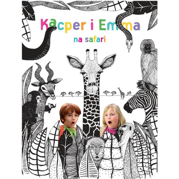 Kacper i Emma na safari - film DVD