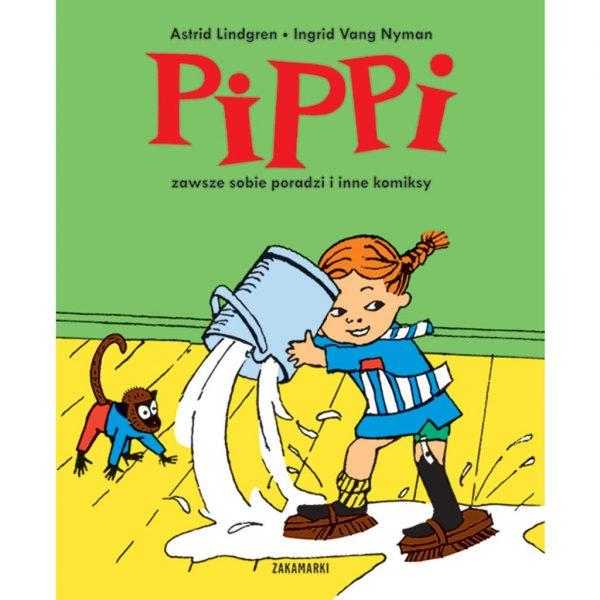 Pippi zawsze sobie poradzi i inne komiksy - Astrid Lindgren, Ingrid Vang Nyman