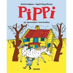 Pippi się wprowadza i inne komiksy – Astrid Lindgren, Ingrid Vang Nyman