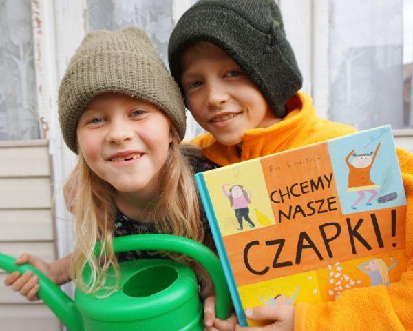 Chcemy nasze czapki! - Eva Lindström