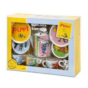 Porcelanowy serwis Pippi