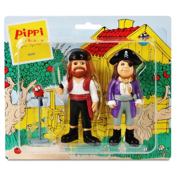 Figurki Pippi: Piraci i papuga Rosalinda
