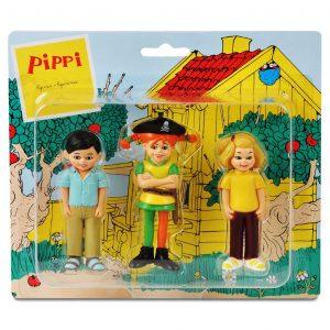 Figurki: Pippi piratka, Annika i Tommy