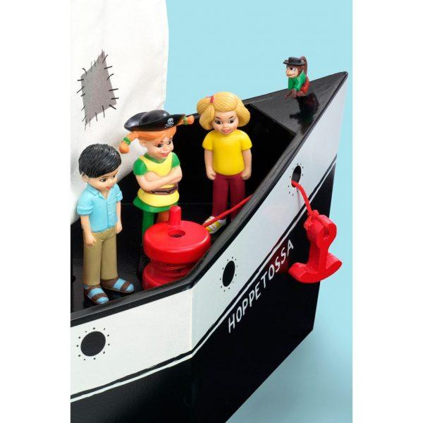 "Drewniany statek piracki Pippi - Hoppetossa czyli ""Podfruwajka"""