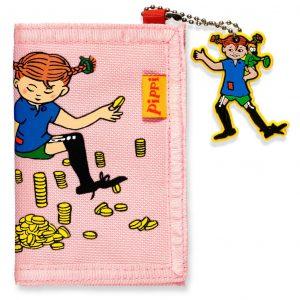 Różowy portfel z PIPPI