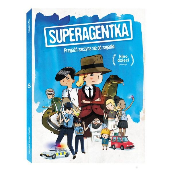 Superagentka - film DVD