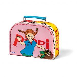 Różowa walizka Pippi