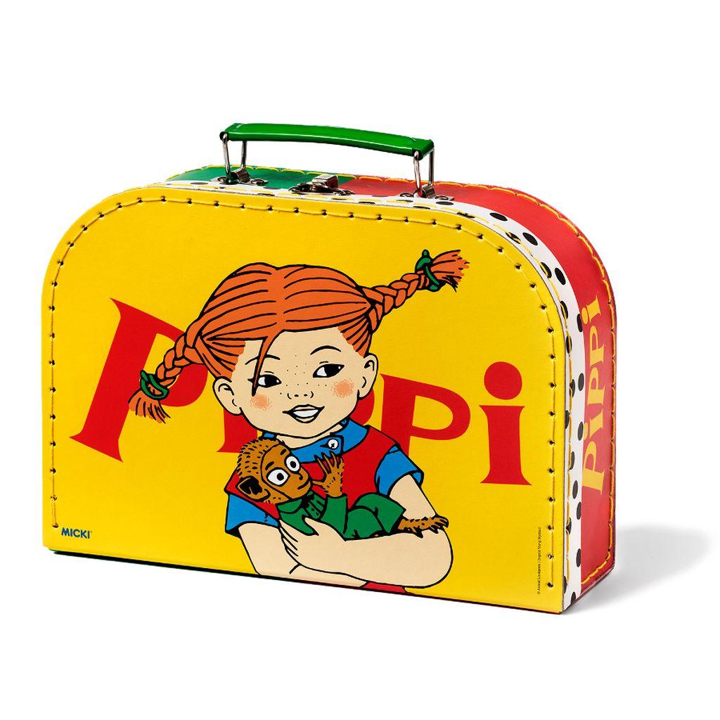 Duża żółta walizka Pippi