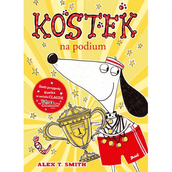 Kostek na podium - Alex T. Smith