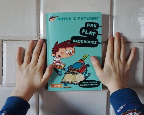 Gutek i potwory: Pan Flat nadchodzi - Jaume Copons
