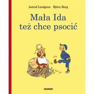 Mała Ida też chce psocić - Astrid Lindgren, Björn Berg