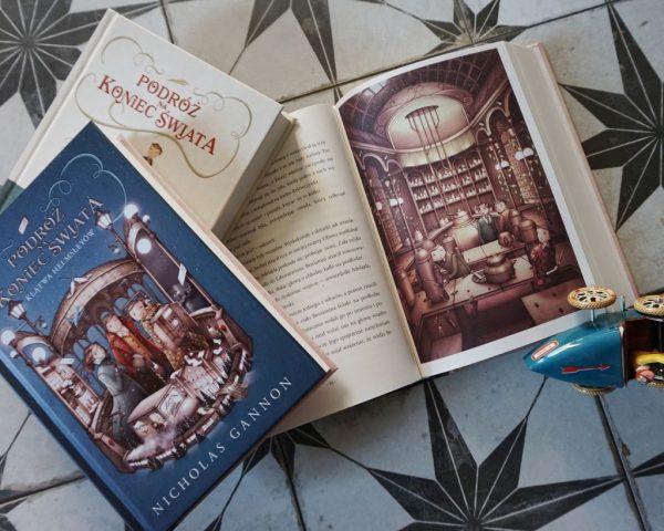 Podróż na koniec świata. Klątwa Helmsleyów - Nicholas Gannon