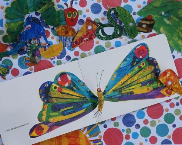 Bardzo głodna gąsienica - Eric Carle