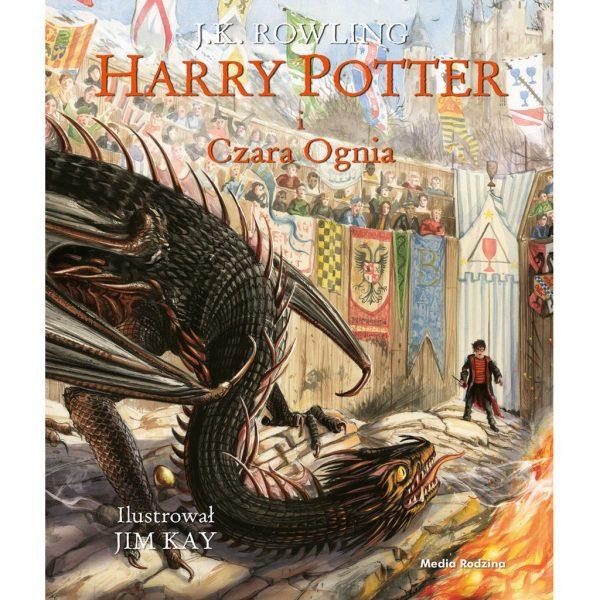 Harry Potter i Czara Ognia. Wydanie ilustrowane