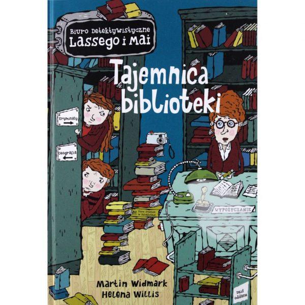 Biuro detektywistyczne Lassego i Mai. Tajemnica biblioteki - Martin Widmark