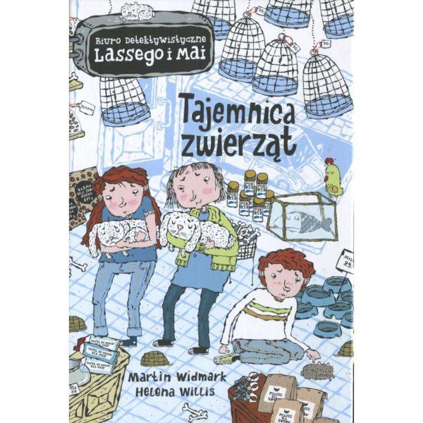 Biuro detektywistyczne Lassego i Mai. Tajemnica zwierząt - Martin Widmark