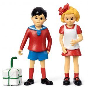 Figurki Pippi: Tommy i Annika