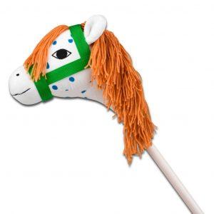 Koń Pippi na kiju