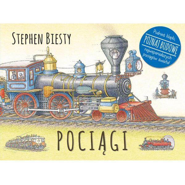 Pociągi - Stephen Biesty