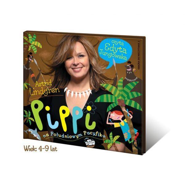 Pippi na Południowym Pacyfiku - cz.3 przygód Pippi - Edyta Jungowska audiobook