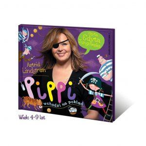 Pippi wchodzi na pokład - cz.2 przygód Pippi - Edyta Jungowska audiobook