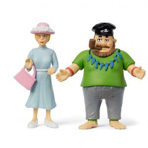Figurki Pippi: Efraim i Nauczycielka