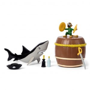 Figurki Pippi: akcesoria pirackie