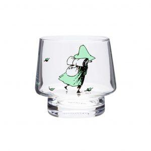 świecznik szklany muminki Muminek