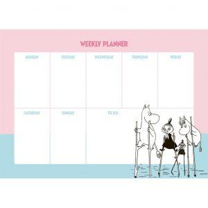 Planer tygodniowy Muminki NA SZCZUDŁACH