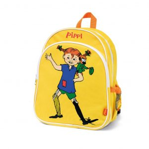 Żółty plecak Pippi