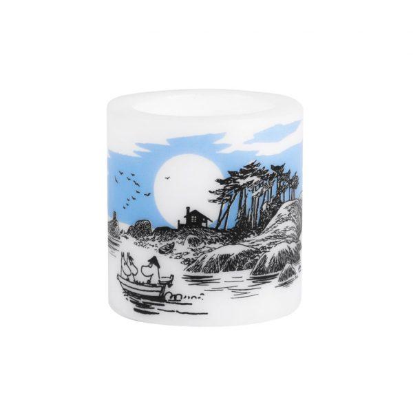 Świeca Muminki ISLAND 8 cm