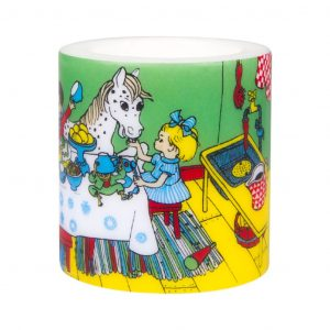 Świeca Pippi PARTY 8 cm